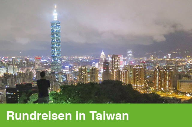 Rundreisen durch Taiwan